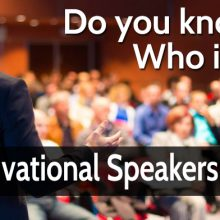 Top 12 Motivational Speakers of India.
