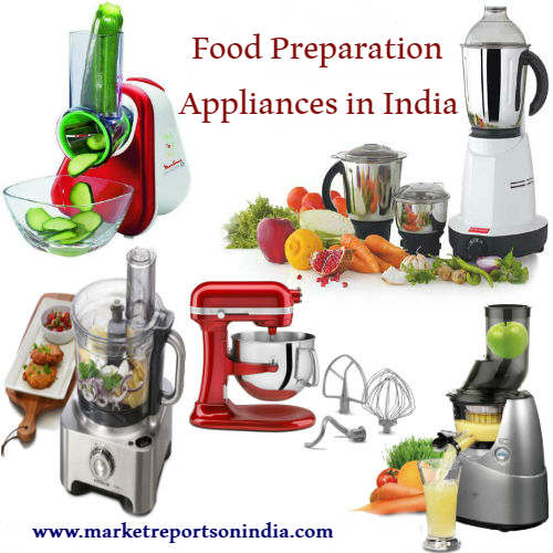 Food Preparation Appliances in India: Market Size and Outlook 2022