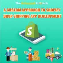 A custom approach to Shopify Drop shipping App Development