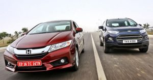 Honda City vs Ford Ecosport – autoX