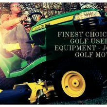 Finest Choice for the Golf used turf equipment – John Deere Golf Mowers
