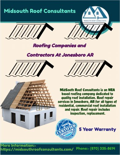 Benefits of choosing the right Roofing Company