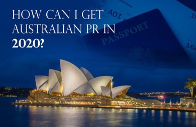 How long does it take to get permanent residence in Australia?
