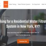 How to select water filter for home in NY