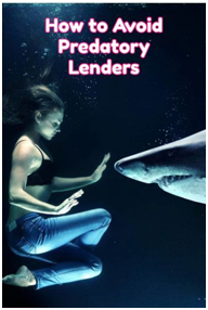how to avoid predatory lenders