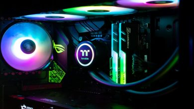 Gaming Cabinet With RGB Fans